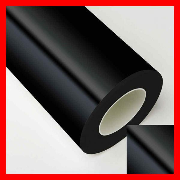 vinyle adhésif noir brillant